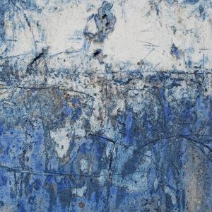 Cathy Fleckstein · Keramische Bildplatte · Blaue Räume