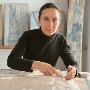 Cathy Fleckstein · Portrait in der Werkstatt